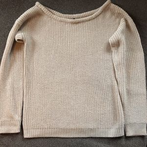 Sweaters - Pullover Beige Soft Sweater S/M